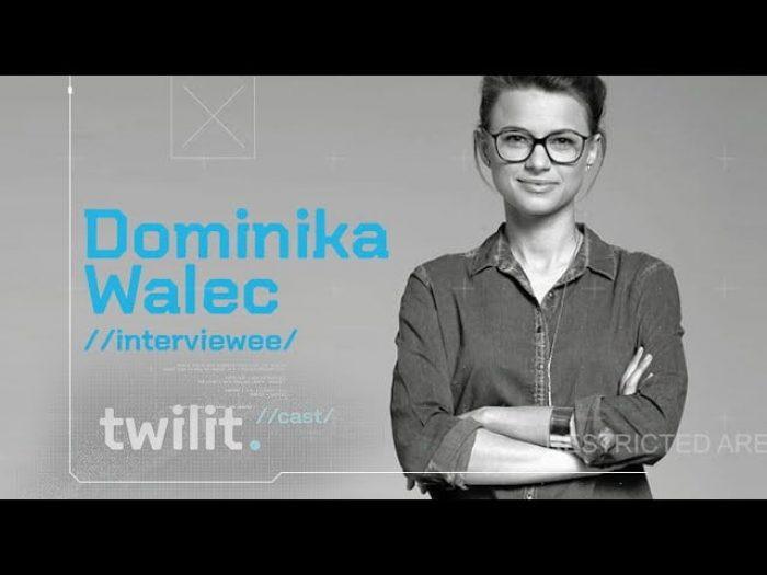 TwilitCast - Talenty IT w Małopolsce, Dominika Walec #OMGKRK
