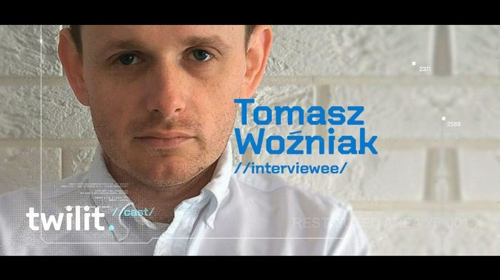 TwilitCast- grał koncerty z Pezetem, a teraz współtowrzy swój softwarehouse, Tomasz Woźniak